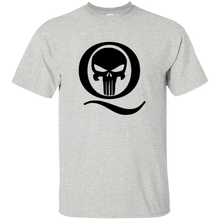 Load image into Gallery viewer, Ash Q Skull Q/Qanon T-shirt