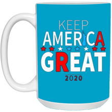 Load image into Gallery viewer, Blue Trump - Keep America Great Mugs