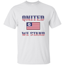 Load image into Gallery viewer, White Qnited We Stand Q/Qanon T-shirt