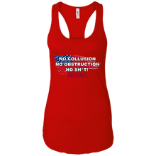 Load image into Gallery viewer, Red Trump - No Collusion No Obstruction No Sh*t MAGA Tank Top