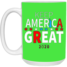 Load image into Gallery viewer, Green Trump - Keep America Great Mug
