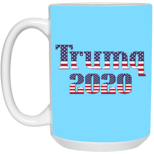 Light Blue Trumq 2020 Ceramic Mug