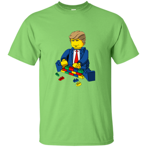 Light Green Trump Lego Kid's T-shirt