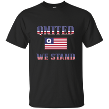 Load image into Gallery viewer, Black Qnited We Stand Q/Qanon T-shirt