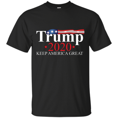 Black Trump 2020 Keep America Great T-shirt