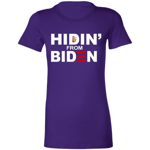 Hidin' From Biden Women's T-shirt