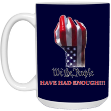 Load image into Gallery viewer, Navy Blue We The People Ceramic Mug