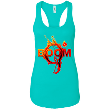 Load image into Gallery viewer, Qanon Q Boom Women's Racerback Tank