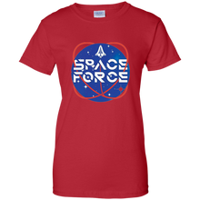 Load image into Gallery viewer, Red Trump Space Force T-shirt