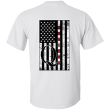 Load image into Gallery viewer, White Qanon WWG1WGA Flag Men's T-shirt