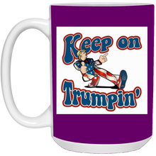 Load image into Gallery viewer, Purple Trump Ceramic Mug