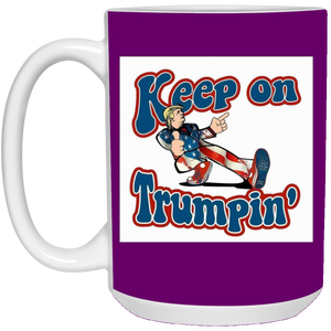 Purple Trump Ceramic Mug