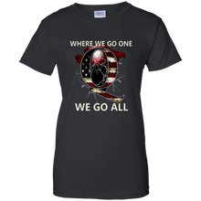 Load image into Gallery viewer, Black Q WWG1WGA Q/Qanon T-shirt
