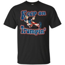 Load image into Gallery viewer, Black Keep On Trumpin T-shirt