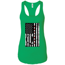 Load image into Gallery viewer, Green Qanon WWG1WGA Flag Women's Tank Top