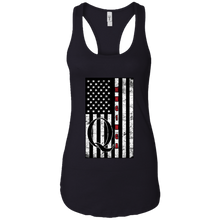 Load image into Gallery viewer, Black Qanon WWG1WGA Flag Women's Tank Top