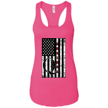 Load image into Gallery viewer, Pink Qanon WWG1WGA Flag Women's Tank Top