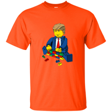 Load image into Gallery viewer, Orange Trump Lego Kid's T-shirt