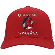 Load image into Gallery viewer, Red Q Sent Me WWG1WGA Q/Qanon Hat