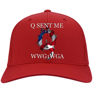 Red Q Sent Me WWG1WGA Q/Qanon Hat
