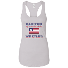 Load image into Gallery viewer, White Qnited We Stand Q/Qanon Tank Top