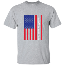 Load image into Gallery viewer, Grey Trump 2020 Flag Men's T-shirt