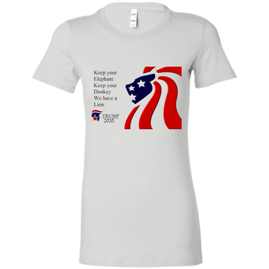 Trump 2020 - We Have A Lion Women's T-Shirt