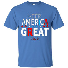 Load image into Gallery viewer, Blue Trump - Keep America Great T-shirt