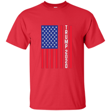 Load image into Gallery viewer, Red Trump 2020 Flag Men's T-shirt