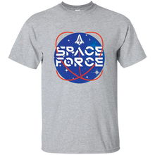 Load image into Gallery viewer, Grey Trump Space Force T-shirt