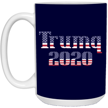 Load image into Gallery viewer, Navy Blue Trumq 2020 Ceramic Mug