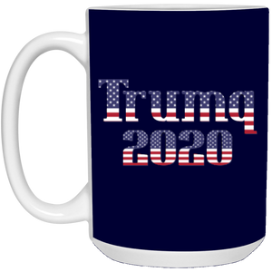 Navy Blue Trumq 2020 Ceramic Mug