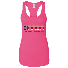 Load image into Gallery viewer, Pink Qanon The Great Awakening Tank Top