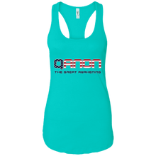 Load image into Gallery viewer, Blue Qanon The Great Awakening Tank Top