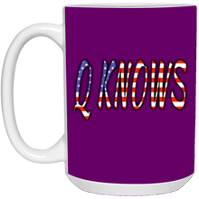 Load image into Gallery viewer, Purple Q KNOWS Ceramic Mug