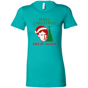 Make Christmas Great Again Trump Women's T-Shirt