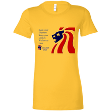 Load image into Gallery viewer, Trump 2020 - We Have A Lion Women's T-Shirt