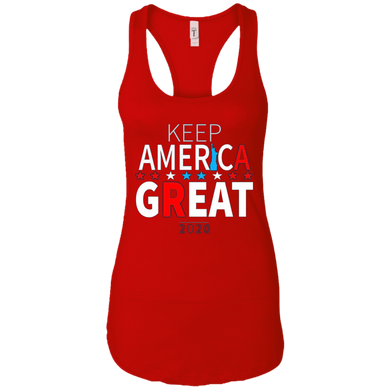Red Trump - Keep America Great Tank Top