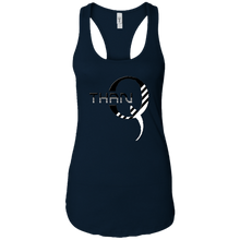 Load image into Gallery viewer, Navy Blue Qanon/Q ThanQ Tank Top
