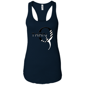 Navy Blue Qanon/Q ThanQ Tank Top