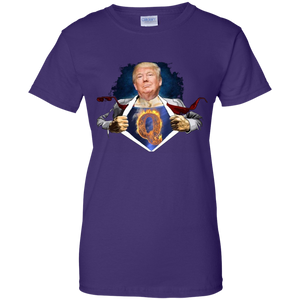 Trump Super Qanon Women's T-Shirt