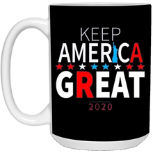 Load image into Gallery viewer, Black Trump - Keep America Great T-Mug