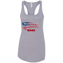 Load image into Gallery viewer, Grey Trump - No Collusion No Obstruction No Sh*t MAGA Mug Tank Top