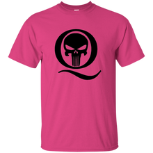 Load image into Gallery viewer, Pink Q Skull Q/Qanon T-shirt