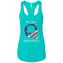 Load image into Gallery viewer, Blue We Are Q WWG1WGA Tank Top