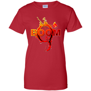 Red Qanon Q Boom T-shirt