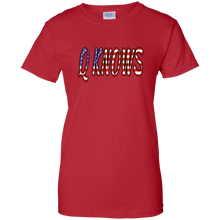 Load image into Gallery viewer, Red QKNOWS American Flag Q/Qanon T-shirt