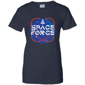 Navy Blue Trump Space Force T-shirt