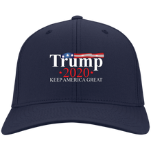 Load image into Gallery viewer, Navy Blue Trump 2020 Keep America Great Hat