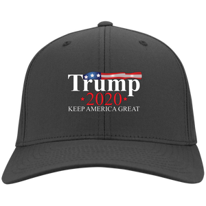 Charcoal Grey Trump 2020 Keep America Great Hat
